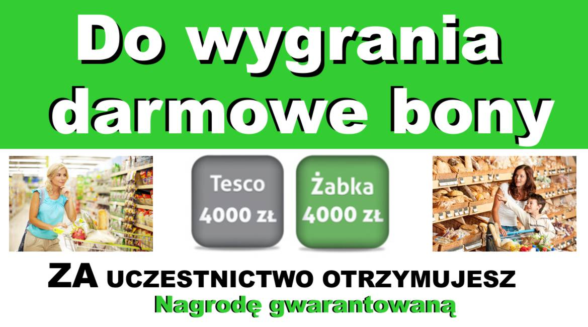 bon tesco zabka do wygrania